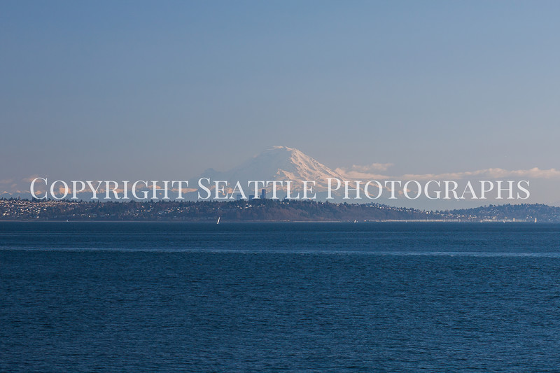 Downtown Seattle from the Edmonds Ferry 100