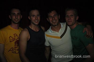DJ Kyler, DJ Rob Hall, Egan (promoter), Brittin
