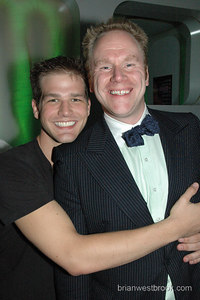 Troy hugs Boystown (Chicago) Mayor Bill Pritchard.  Visit Bill's site: http://www.boystownchicago.com/ for a fantastic guide to Gay Chicago!