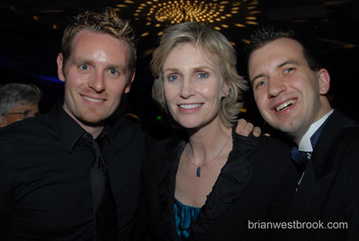 "2007 HRC Pacific Northwest Dinner at the Westin Hotel in Seattle featuring T.R. Knight, Jane Lynch, Ross ""The Intern"" Matthews, and HRC President Joe Salmonese.    Photo (c) 2007 Brian M. Westbrook / brianwestbrook.com."
