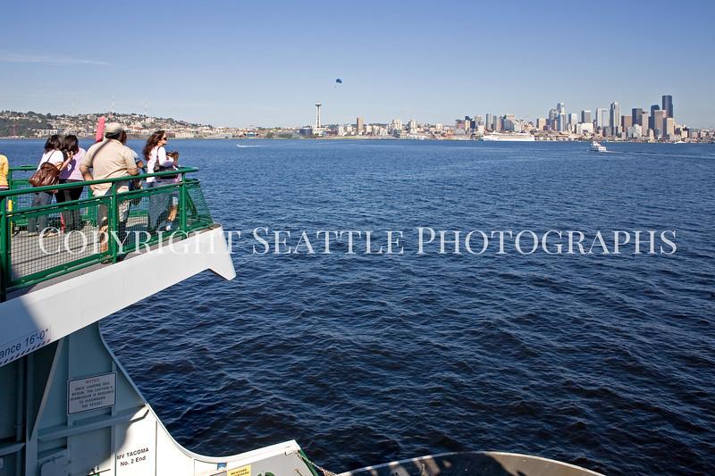 On the ferry boat MV Tacoma 138