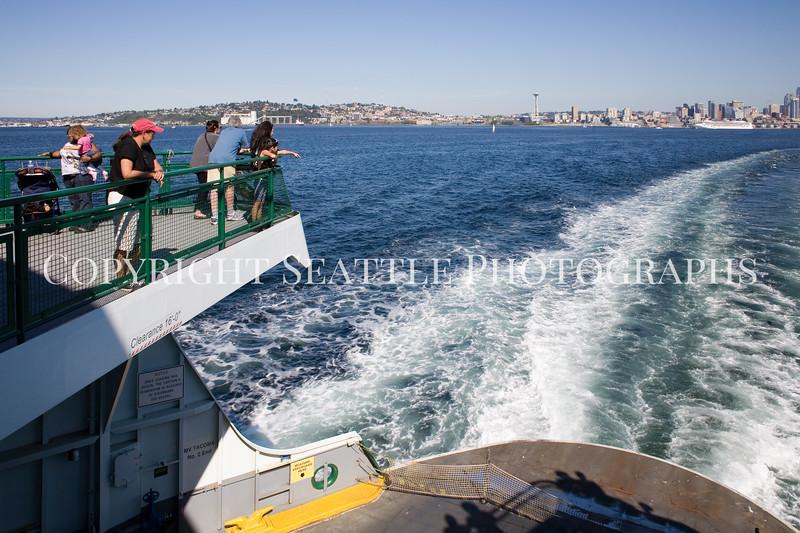 On the ferry boat MV Tacoma 112