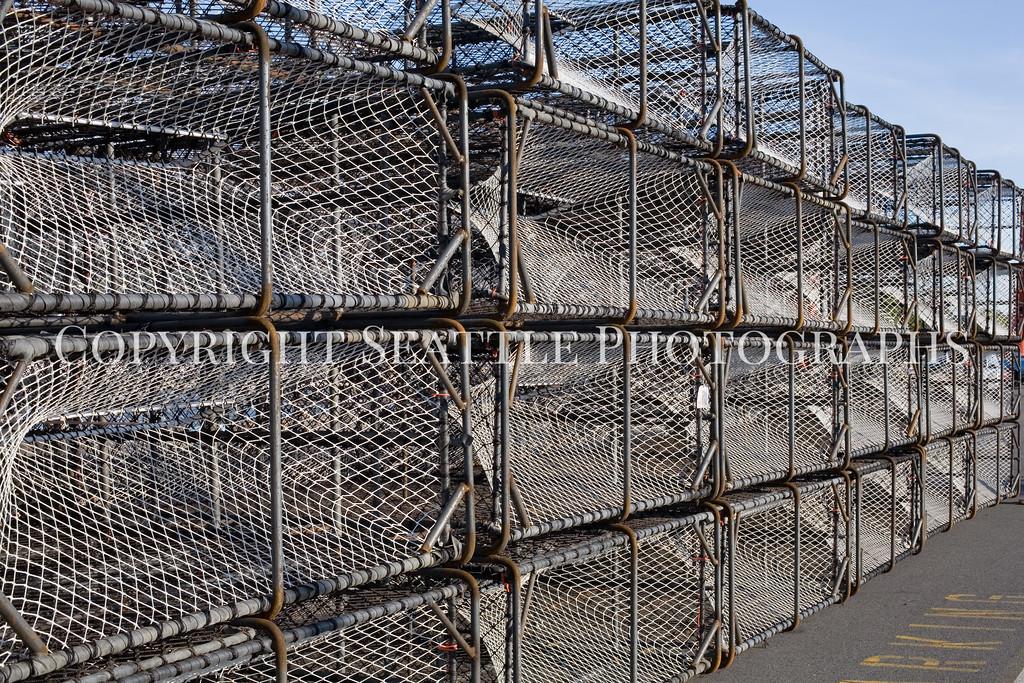 Fishermens Terminal Crab Traps 115