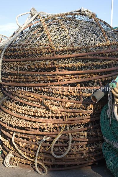 Fishermens Terminal Crab Traps 118