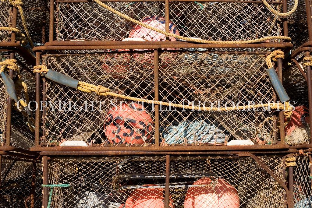 Fishermens Terminal Crab Traps 106