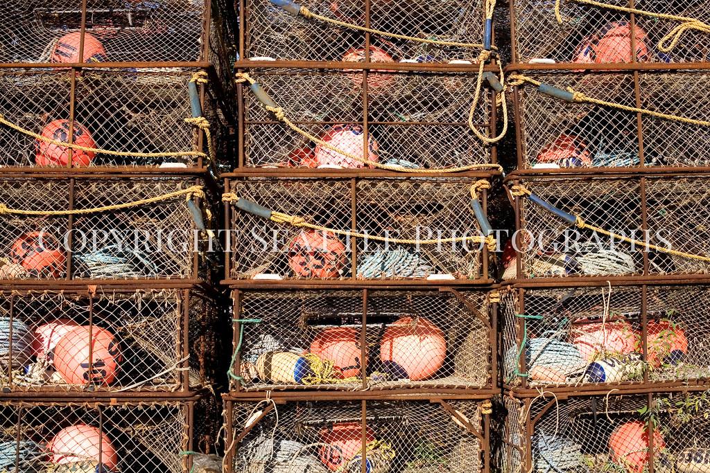 Fishermens Terminal Crab Traps 104