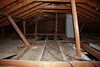 Attic, before ceiling was pulled down