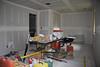 Master bedroom as seen from Matt's closet. Door goes to master bath.