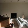 Upstairs fireplace.