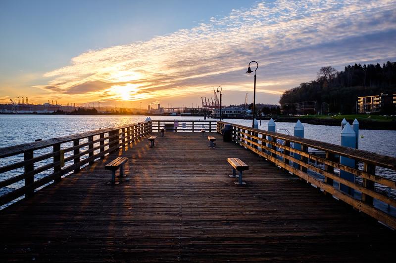 Seacrest Park in West Seattle | Seattle, WA | December 2016
