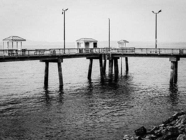 Centennial Park fishing pier | Seattle, WA | August 2018