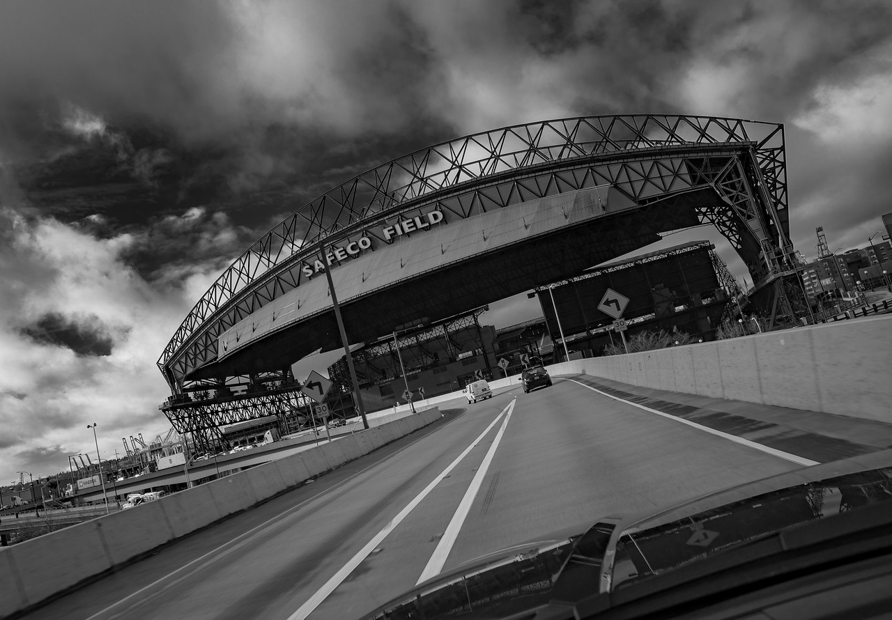 Safeco Field, home to the Seattle Mariners