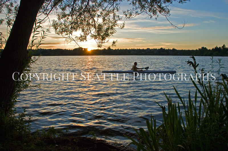 Green Lake Park Sunset 21
