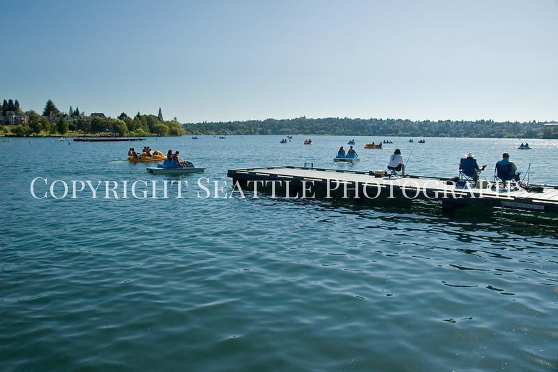 Green Lake Dock 1