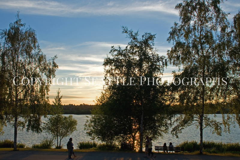 Green Lake Park Sunset 20