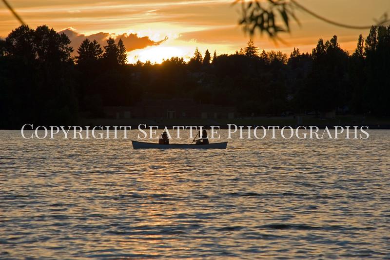 Green Lake Park Sunset 23