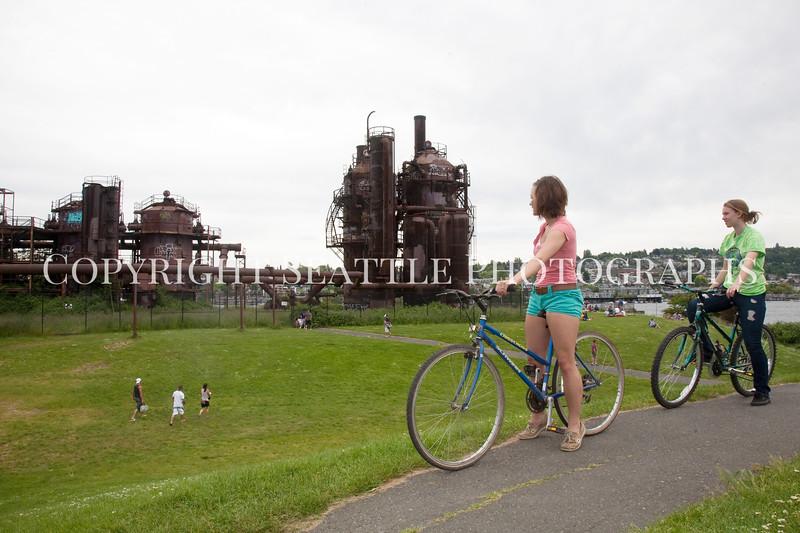 Gasworks Park Cycling 100
