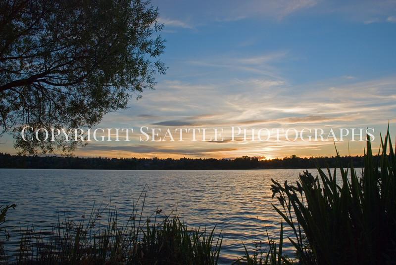 Green Lake Park Sunset 24