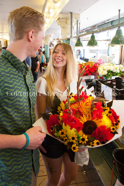 Pike Place Market Flowers 121