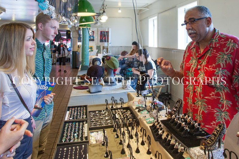 Pike Place Market Craft Vendor 144
