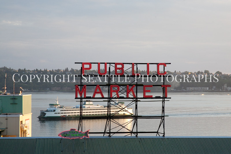 Pike Place Market Evening 111