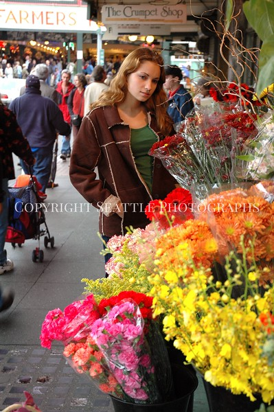 Pike Place Market Flowers 20