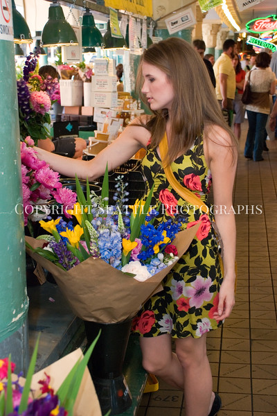 Pike Place Market Flowers 45
