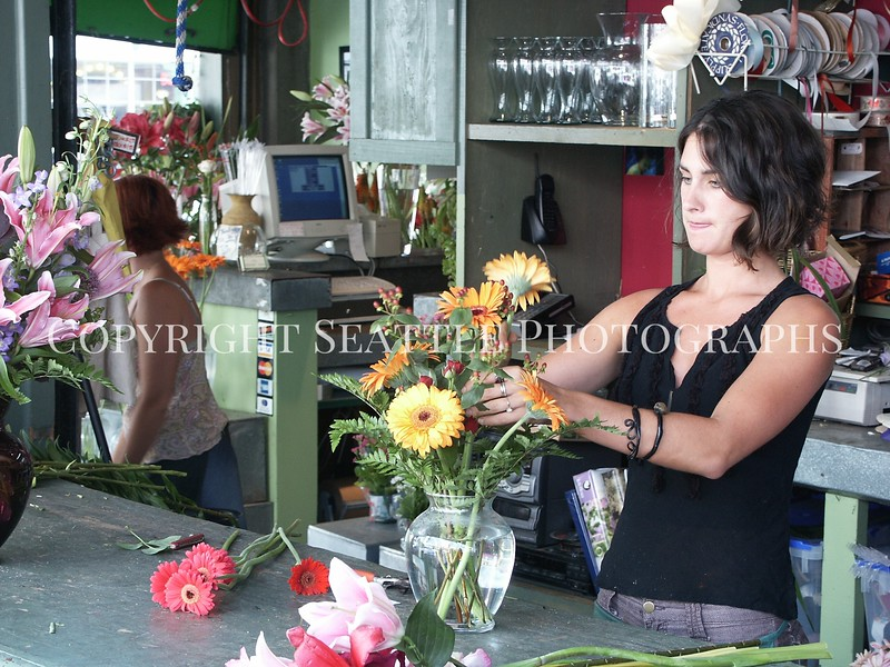 Pike Place Market Flowers 2