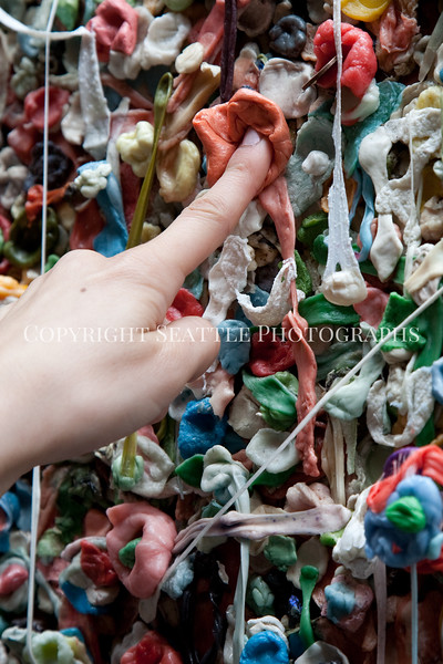 Pike Place Market Gum Wall 121