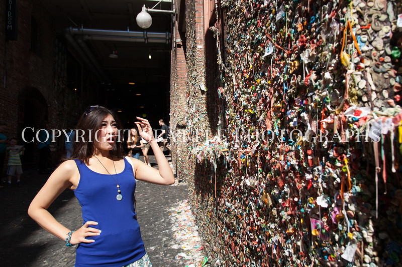 Pike Place Market Gum Wall 137