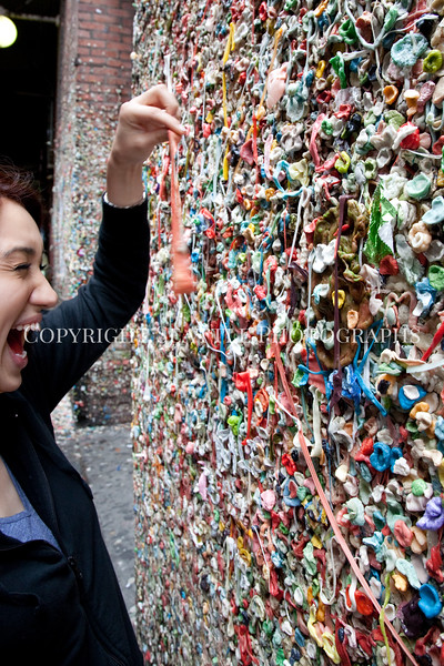 Pike Place Market Gum Wall 114