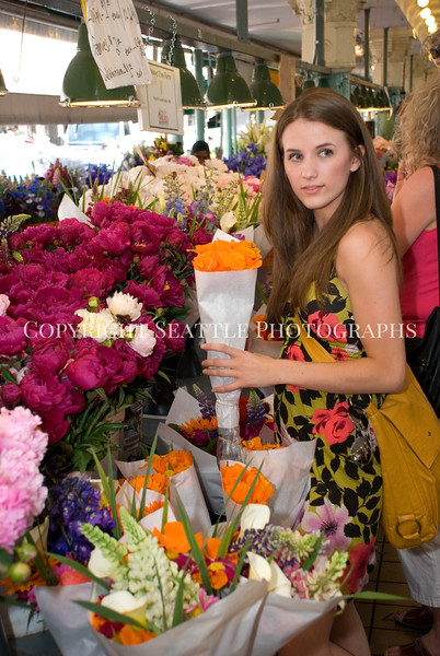 Pike Place Market Flowers 39