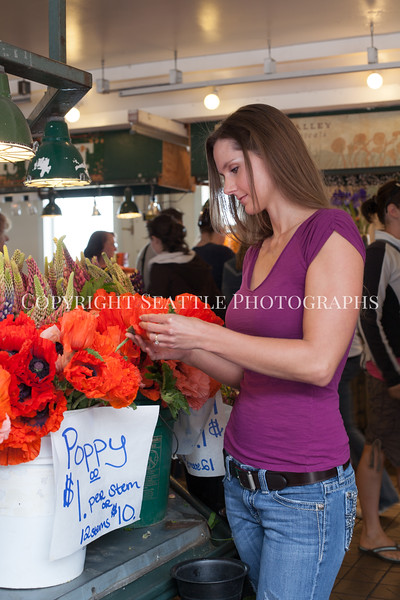 Pike Place Market Flowers 107