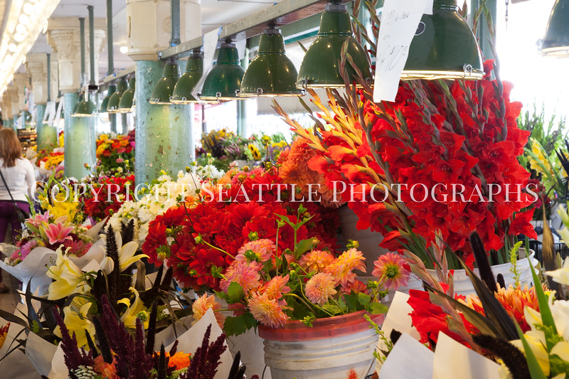 Pike Place Market Flowers 113