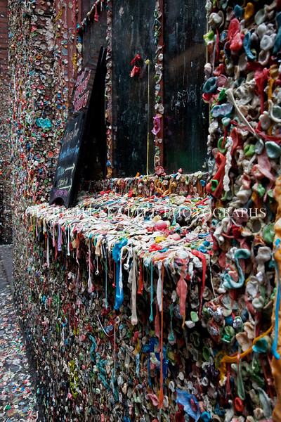 Pike Place Market Gum Wall 112