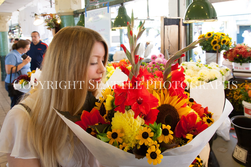 Pike Place Market Flowers 124