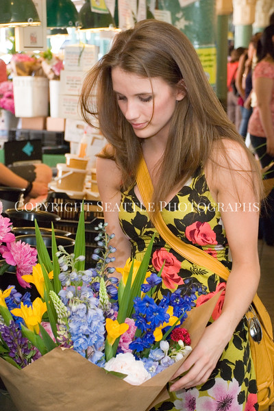 Pike Place Market Flowers 44