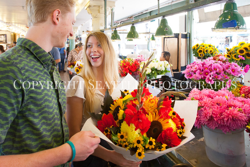 Pike Place Market Flowers 119