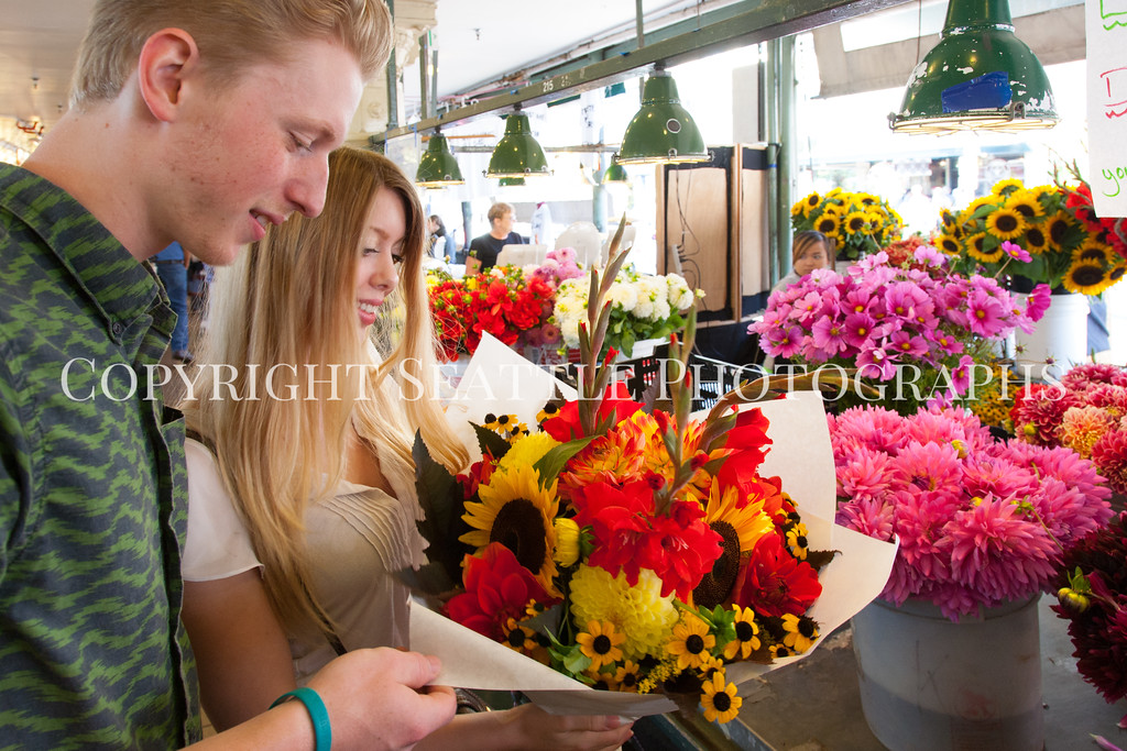 Pike Place Market Flowers 118