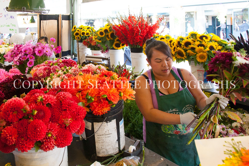 Pike Place Market Flowers 116
