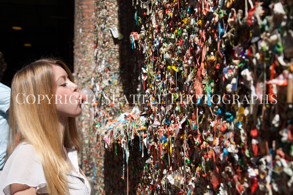 Pike Place Market Gum Wall 128
