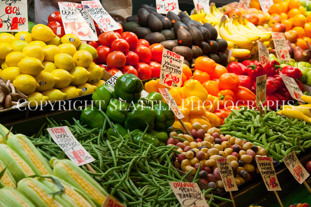 Pike Place Market Vegetables 112