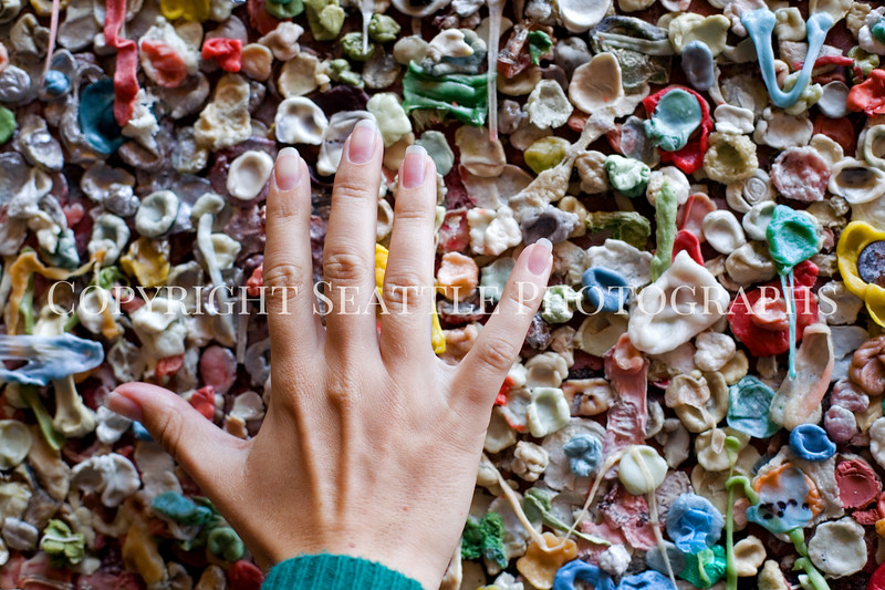 Pike Place Market Gum Wall 104