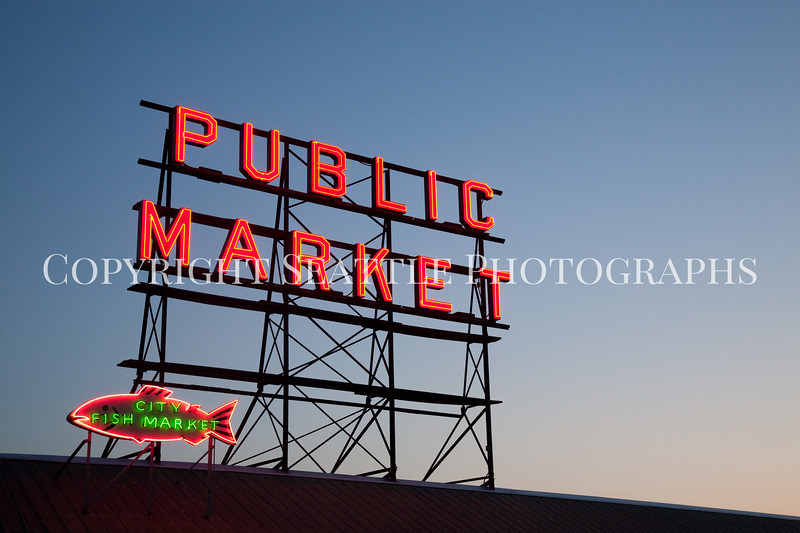 Pike Place Market Evening 115