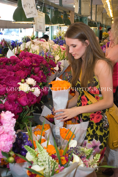Pike Place Market Flowers 37