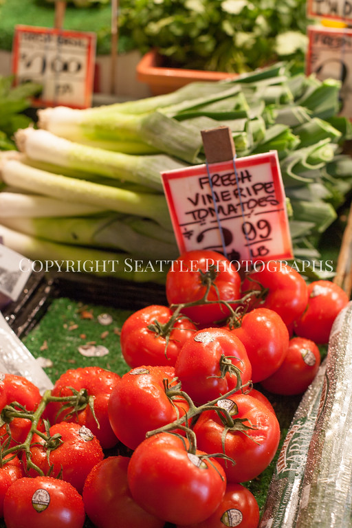Pike Place Market Vegetables 104
