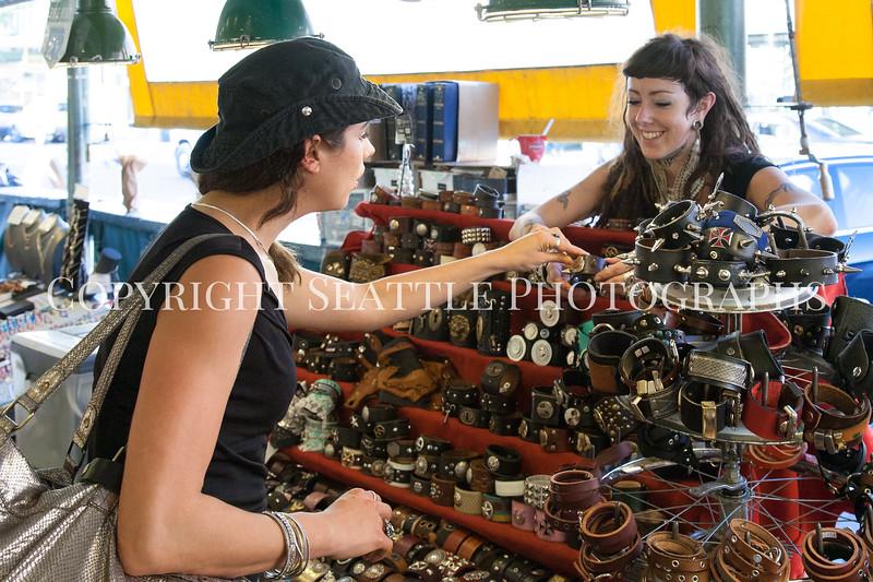 Pike Place Market Craft Vendor 125