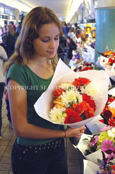 Pike Place Market Visitor 11