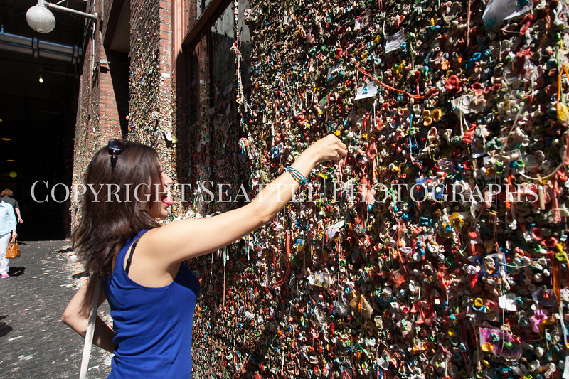 Pike Place Market Gum Wall 142