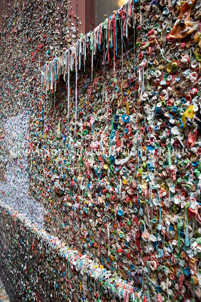 Pike Place Market Gum Wall 110